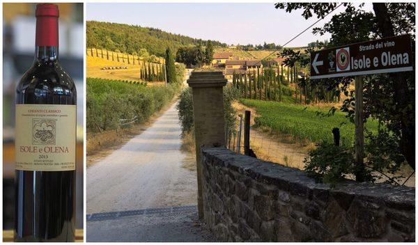 Вино недели с 16 октября - Isole e Olena Chianti Classico