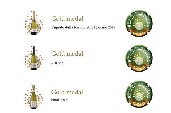 Три золотых медали для Nino Franco