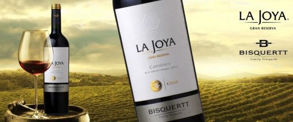 Вино недели с 10 июля - La Joya Carmenere Gran Reserva