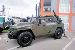 Вооруженный «Тигр» покорил посетителей выставки