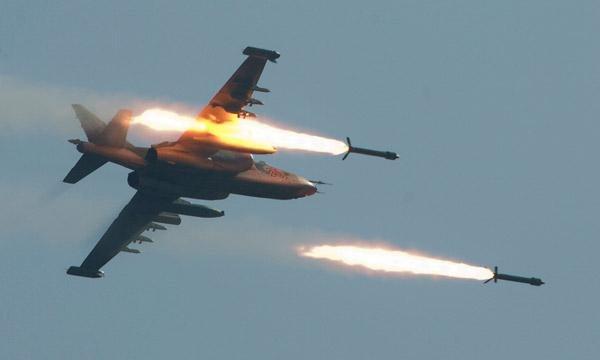Высший пилотаж в сирийском небе