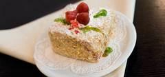 Десерт с малиной и нектаринами на гриле Broil King