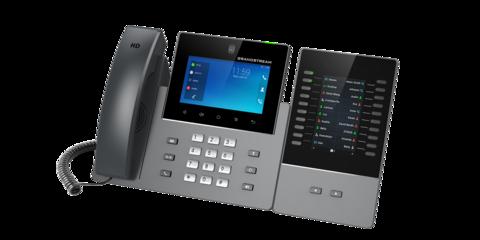 Grandstream выпускает новый High-End IP-видеотелефон и модуль расширения