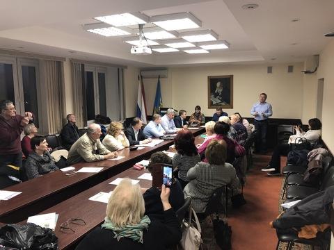 Совещание с председателями   ТСЖ,   ЖСК   и   УК в здании администрации г. Жуковский