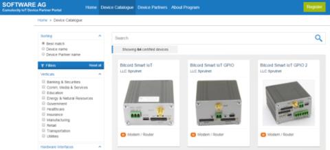 Модемы «Bitcord Smart» теперь совместимы с системой «Cumulocity IoT»