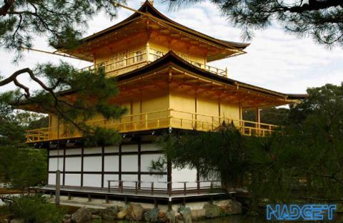 Золотой храм - Golden Temple нарисованный 3d ручкой.