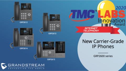 Компания Grandstream снова побеждает в конкурсе TMC