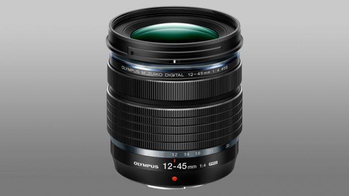 Olympus анонсировали самый компактный в мире зум-объектив M.ZuIko 12-45mm F/4 Pro