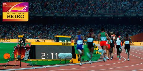 Seiko – хронометрист Чемпионата мира по легкой атлетике в Лондоне