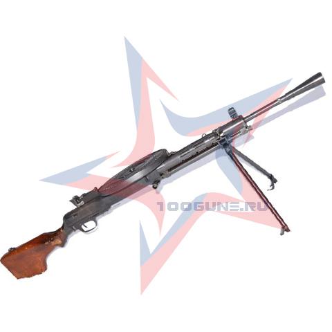 Легендарный пулемет Дегтярева образца 1927 года теперь в охолощеном исполнении