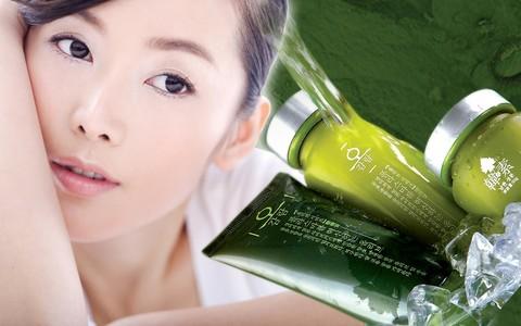 Как очищают кожу кореянки