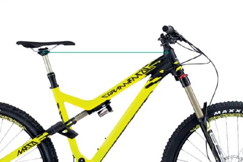 Геометрия горного велосипеда