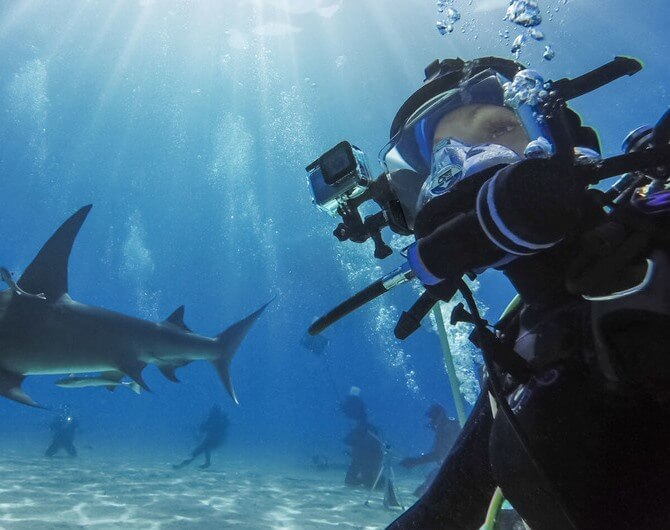Водонепроницаемый бокс для камеры HERO8 GoPro Dive Housing