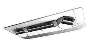 Потолочный кондиционер, оснащенный подвижными воздухораспределителями, выпустила Fujitsu