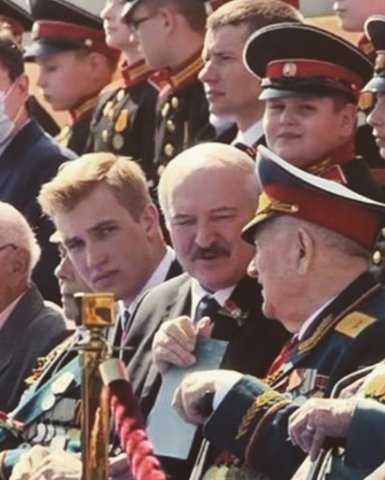 Сын Александра Лукашенко вырос копией принца Уильяма