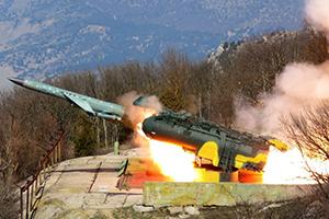 Ракетный комплекс «Утес» на защите Крыма