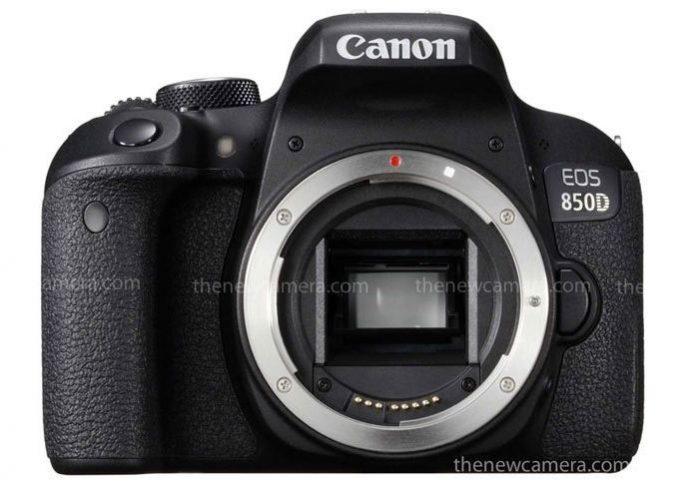 Canon 850D ожидается в первом/втором квартале 2020 года