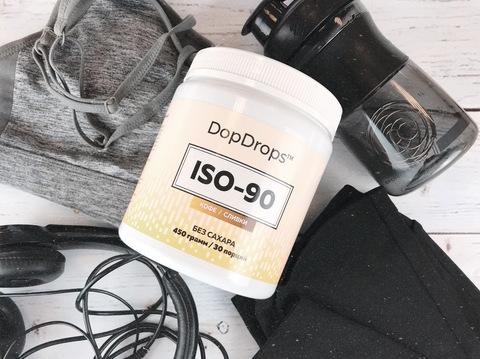 Протеин Изолят ISO-90 DopDrops - на диете - купить со скидкой