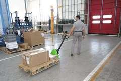 Штабелёры и гидравлические тележки (рохли) для предприятий