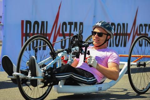Поздравляем Ярослава Святославского с первым местом в своей категории на триатлоне Iron Star в Сочи!