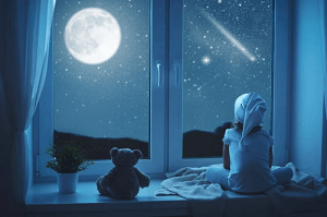 Ночная гостья (сказка на ночь).