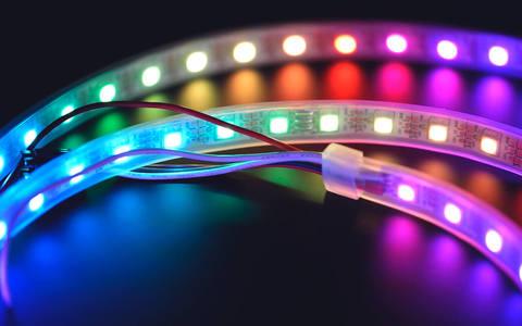 Светодиодные ленты – комплект с пультом