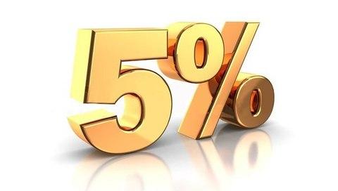Скидка 5% за репост в соцсетях!