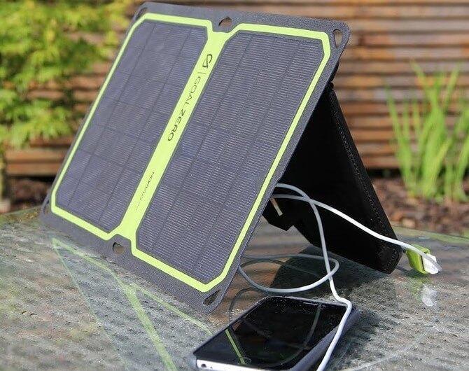 Зарядный комплект Goal Zero Guide 10 Plus Solar Kit (с Nomad 7+). В горы со связью.