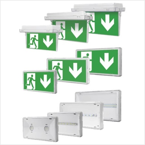 Аварийные светильники EXIT – теперь доступны в новых модификациях