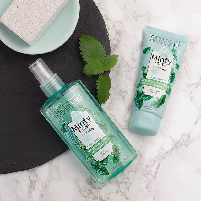 Minty Fresh Foot Care 🍃