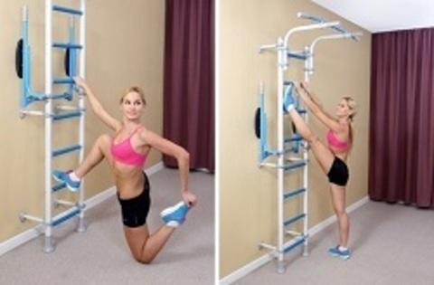 Упражнения на растяжку на шведской стенке