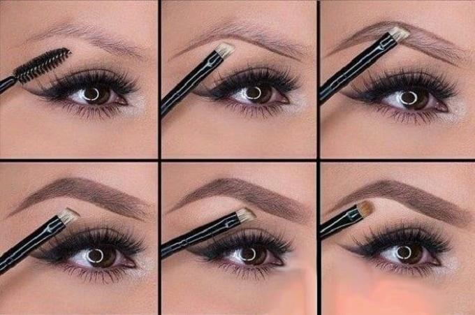 Инструкция, как правильно красить брови карандашом
