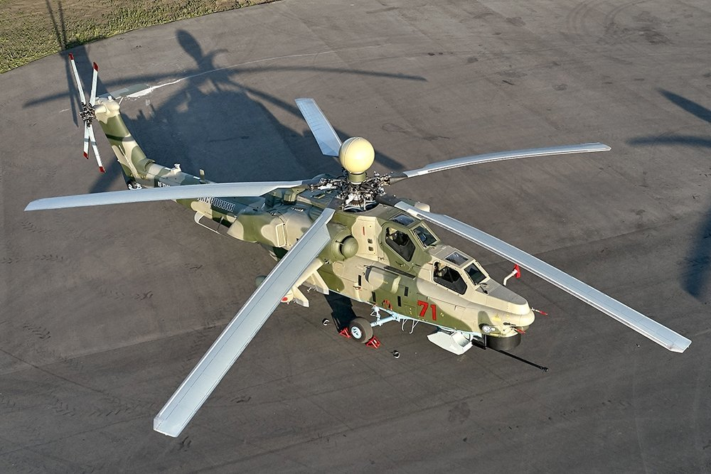 Новые лопасти для ударного вертолета