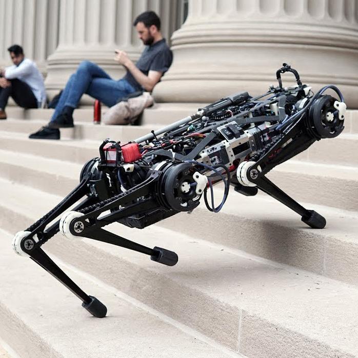 """Робот Cheetah не использует """"зрение"""""""