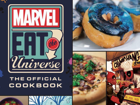 Кулинарная книга вселенной Marvel