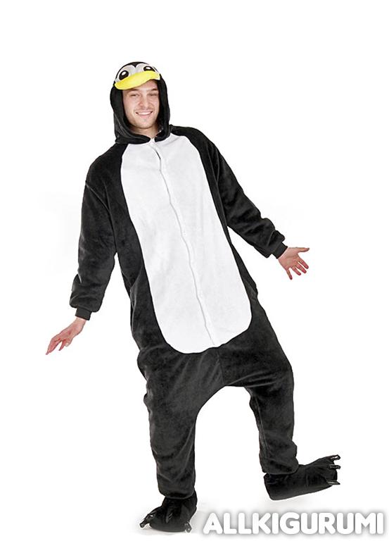 Обзор пижама кигуруми пингвин