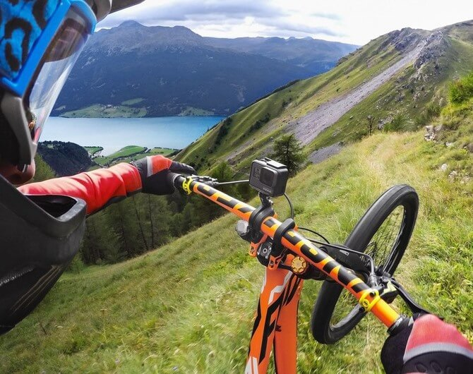 Крепление на руль/седло/раму велосипеда GoPro Pro Handlebar/Seatpost/Pole Mount (AMHSM-001)