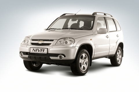 Установка пневмобаллонов на Chevrolet Niva