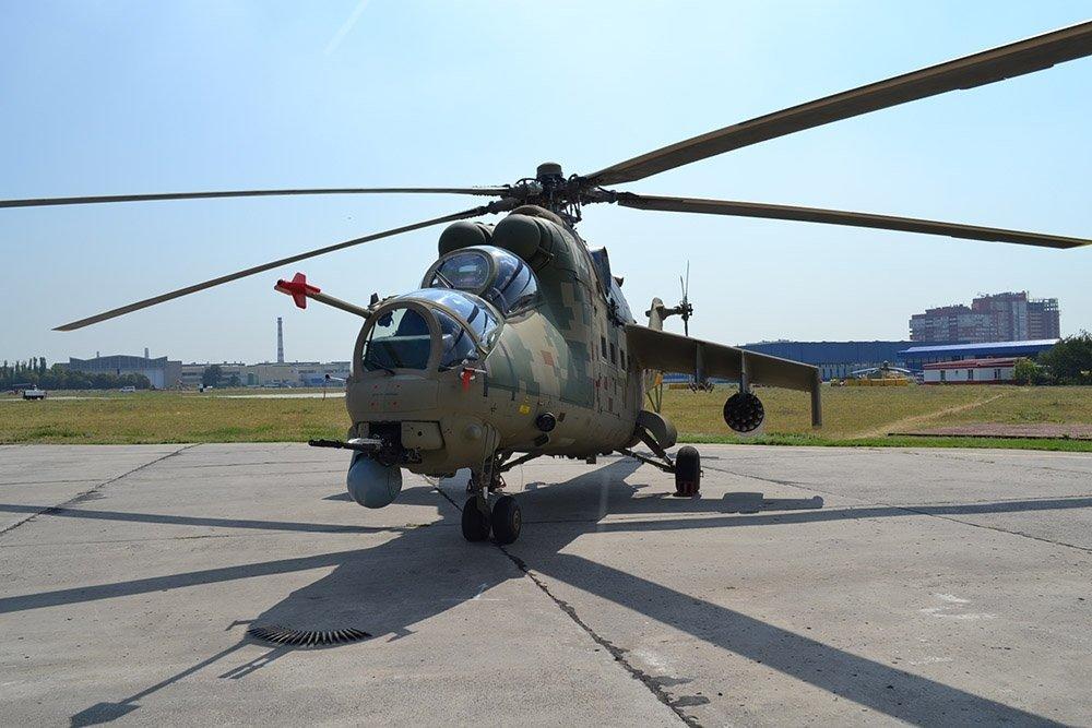 В Сочи показан  обновленный Ми-35П