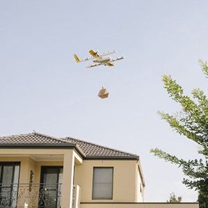 Транспортные дроны Google – безопасные полеты