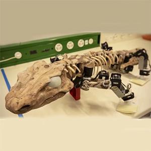 Ископаемого ящера роботизируют