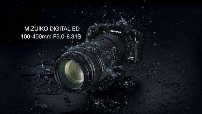 Представлен объектив M.Zuiko Digital ED 100-400mm F/5-6.3 IS