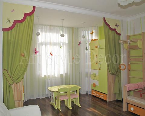 Заказать шторы для детской