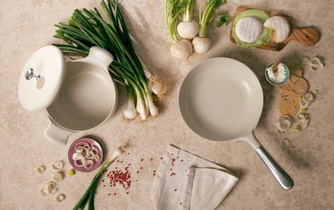 Итальянская посуда с антипригарным покрытием.