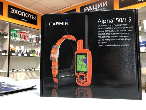 Системы слежения за собакой - Garmin ALPHA 50 -T5 вновь в наличии!