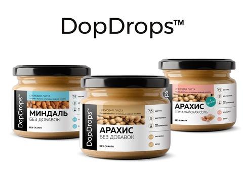 Ребрендинг Упаковки DopDrops