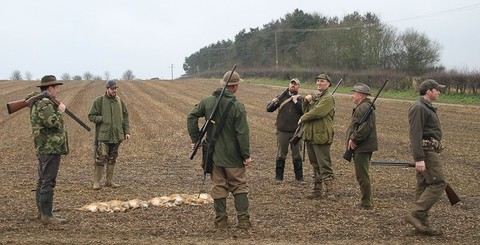 Правила безопасности при коллективной охоте