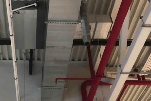 «АНТЭКС» оборудовал канальными кондиционерами подмосковный складской комплек