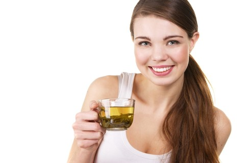 Польза зеленого чая для кожи лица.