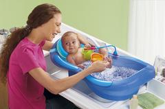 Первое купание малыша